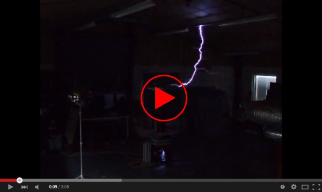 Video link to Tesla coil on YouTube 4